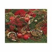 Springbok Puzzles - Colors Of Christmas - 2000 Piece Jigsaw Puzzle - Large 34 I