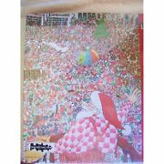 Santa Christmas Puzzle Springbok 500 Pieces Family Puzzle Everything's Up To D