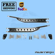 Floating Rear Traction Bar Syst Fabtech For 14-16 Ram 3500 4wd