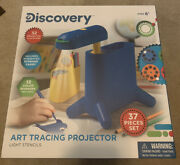 Discovery - Tracing Projector Light Stencils 37 Pc Set