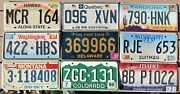 9 Plates From 9 Places 2005 Or Older, Incl. Hawaii, Quebec, Arizona, Idaho