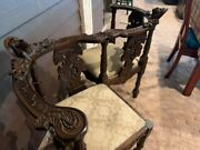 Antique Courting Chair