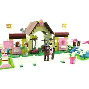 Lego Friends Heartlake Stables 3189 Complete With Manuals Minifigures Horses