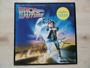Eric Clapton And Huey Lewis Signed Lp-cover Back To The Future Vinyl Acoa