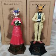 Studio Ghibli Whisper Of The Heart Music Box Baron And Luise Set Official