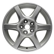 17 Inch Wheel Rim For 2002-2004 Nissan Altima 17x7 Refinished Silver