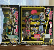 2012 Monster High Roller Maze Doll Ghoulia Yelps Abbey Bominable Lagoona Blue