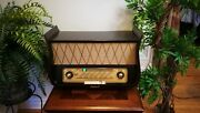 Tonfunk Violetta Lyra W332 Restored Beautiful. Radio Very Hard To Find Actually