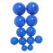 50x12pcs Blue Health Care Vacuum Cupping Cups Silicone Suction Cup Massage