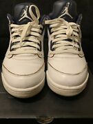 """Nike Air Jordan 5 Retro Low """"dunk From Above"""" Size 10 819171-135 100authentic"""