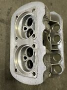 2 New Nos Vw Bug Bus Ghia 1600cc Engine Cylinder Heads Dual Port Made In Germany