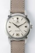 Omega Seamaster Calendar 2627-18sc Auto Vintage Watch 1954and039s Overhauled
