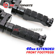 Cnc R-fight 40mm Extended Rider Foot Pegs For Suzuki Boulevard M90 09-19 18 17