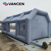 Spray Booth 743m Inflatable Paint Booth Tent Portable Inflatable Spray Booth