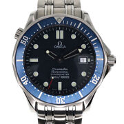 Omega 2531.80 Seamaster Automatic Navy Ss Divers 300m Water Resistant 41mm