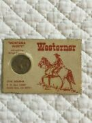 Business Card Lee Martin-coinage And Westerner Magazine With 1935 Buffalo Nickel
