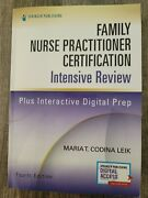 Family Nurse Practitioner Certification Intensive Review Fourth Edition By Leik
