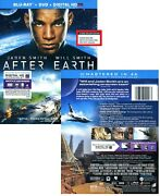 After Earth - 3-disc Deluxe Edition Blu-ray + Dvd Region Free Blu-ray