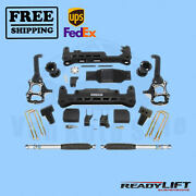 7 Complete Lift Kit System With Rear Shocks Readylift For Ford F-150 2015-2020