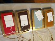 Zimmerman Hand Painted Metal Crossbody Cigarette Case Oro 2732s19 Different Colo