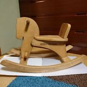 Rocking Horse Miffy Vintage Toys Antique Made Of Wood Interior