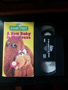 Sesame Street A New Baby In My House Vhs 1994 Super Rare Htf