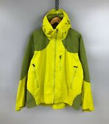 Rare Archive Css System Deep Hood Jacket Coat Lime Green Size L