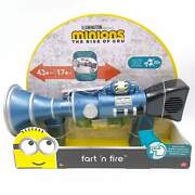 Minions Rise Of The Gru Fart N Fire Blaster Toy