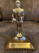 1979 Ford Punt Pass And Kick Ppandk Trophy First Place Award - Age 11- Football
