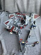 Lego Star Wars Venator Class Republic Attack Cruiser For Parts Only8039