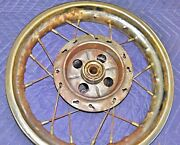 Rupp Minibike Rear Wheel Assembly With Brake And Axle  Mini Bike Roadster