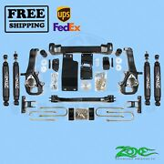 Suspension Lift Kit Zone 5 Front And Rear For Dodge Ram 1500 4wd 2002-2005