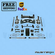 6 Basic Syst W/ Front Coilover And Rear Ss Shocks Fabtech For Ford F150 4wd 04-08