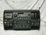99-04 Land Rover Discovery Radio Stereo Cassette Climate Control Dash Trim Panel