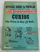 Official Guide To Popular Antiques Curios By Hal L. Cohen 1971 3rd Ed Paperback