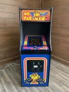 Ms. Pacman Arcade Machine Upgraded To Play 412 Games