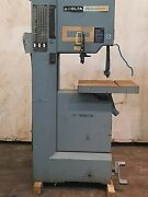 Delta Machinery Model 20 Vertical Band Saw 220/240v 50/60hz R-s-h Blade Type