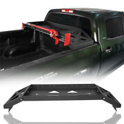 Steel Truck Bed Luggage Cargo Rack W/ Hi-lift Jack Mount For 07-13 Toyota Tundra