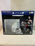 Sony Playstation 4 Pro 1tb Limited Edition Gray Console - God Of War