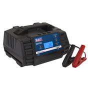 Compact Auto Smart Charger 12a 9-cycle 12/24v - Lithium Sealey Autocharge1200h