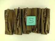 Lot Of 5 New Tactical Tailor Prc-152/thhr Molle Radio Pouch Coyote Tan Free Ship
