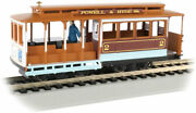 Gauge H0 - Bachmann Tram Cable Car Powell And Hyde Streets - 60537 Neu