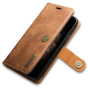 For Iphone X/xs Max Xr 12 Pro Max Plus Leather Wallet Case Dustproof Cover