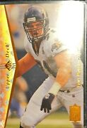 Rare Vintage Mint Condition Tony Boselli Rookie Card Upper Deck 1995 147
