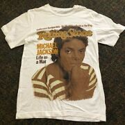 Michael Jackson Rolling Stone Officially Licensed T-shirt Size S Vintage Rare