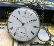 Vacheron Constantin Used Watch White Gold 48 Mm Pocket Manual Winding