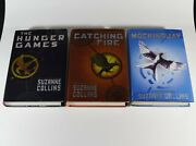 Suzanne Collins - Hunger Games Trilogy -all Three 1st Edition 1st Printing Books