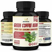 Green Coffee Bean Extract 6050mg - 5 Months Supply - Highest Potency With Garcin