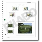 Filabo Stamp Pages Of Azores And Madeira Mounted With Protectors 1987-1989
