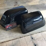 New Oem 17+ Ford F-250 Super Duty Painted To Match Mirror Caps - Shadow Black